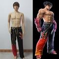 Tekken 6 cosplay Jin Kazama Cosplay Costume Anime Custom Made Uniform