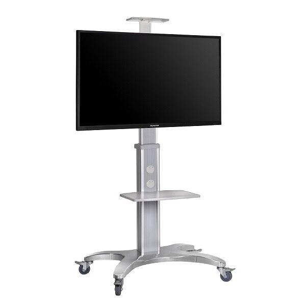 En Alliage d'aluminium NB AVF1500-50-1P TV Mobile Panier Livraison De Levage 55 -80 LED LCD Plasma TV Chariot Stand avec Plateau AV Caméra Titulaire