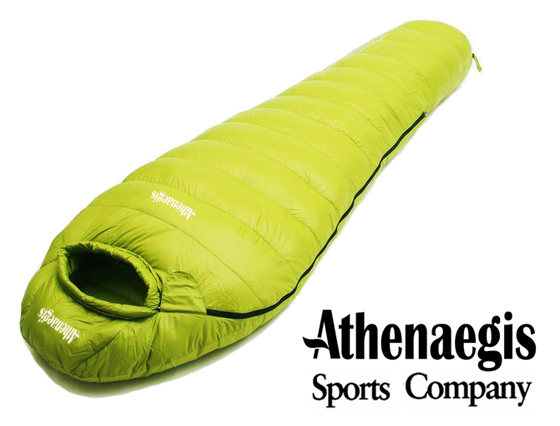 Athenaegis 600G white goose down filling can be spliced mummy ultra-light goose down sleeping bag