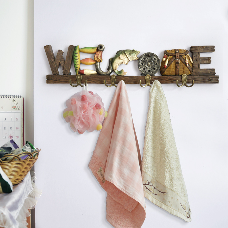 Nordic minimalist decorative hanger hat hook bag rack creative home living room entrance door personality key hook coat hooks цены