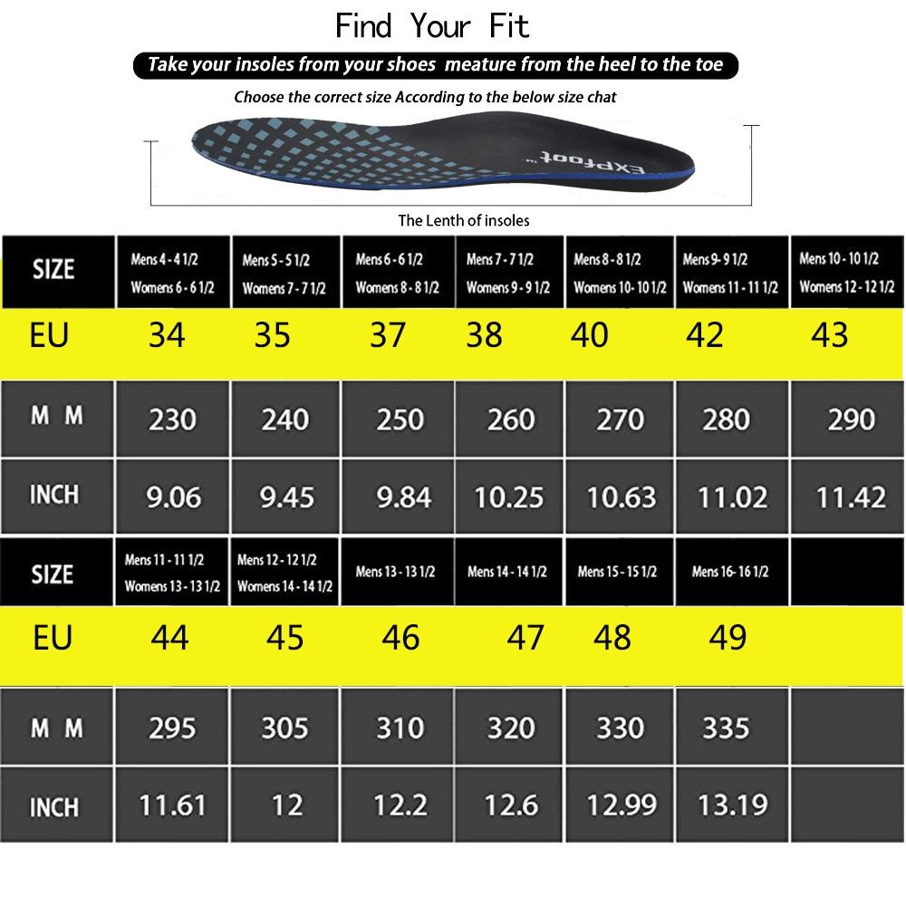3D Premium Kualitas Tinggi Sol Orthotic O / X-kaki Berongga kaki Arch - Aksesoris sepatu - Foto 3