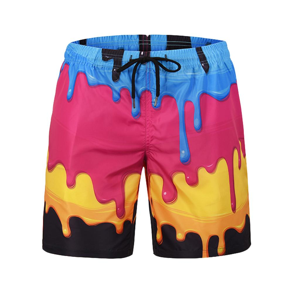 Mens Beach Board Swimming Short Quick Drying Pants Swimsuits Men Swimwear Swim Shorts Trunks Running Sports Surfing shorts