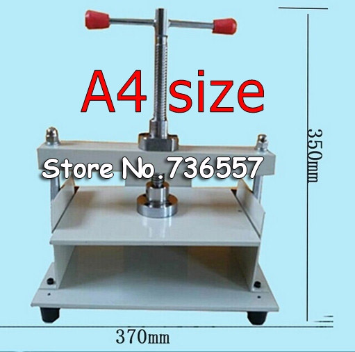 A4 size Manual flat paper press machine for photo books, invoices, checks, booklets, Nipping machine visad scissors portable paper trimmer paper cutting machine manual paper cutter for a4 photo with side ruler