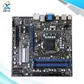 Para msi h55m-e33 original usado madre de escritorio de intel h55 Socket LGA 1156 Para i3 i5 i7 DDR3 Micro-atx En venta