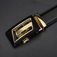 Fashion Luxury Cowhide Leather Men's Belt