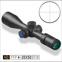 Discovery HD 4-20X50 SFIR FFP IR-MIL First Focal Plane Hunting Tactical Shooting riflescope Illumination rifle scope sunshade