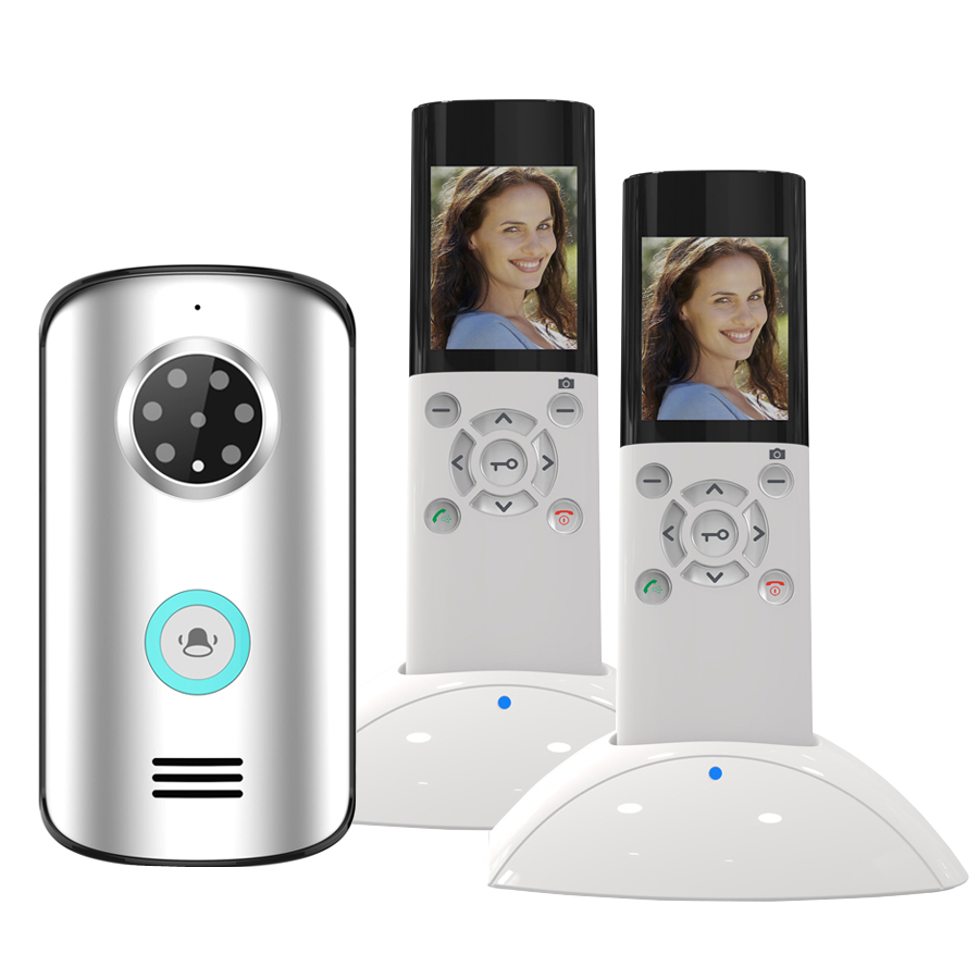 Wireless Security Night Vision Camera System