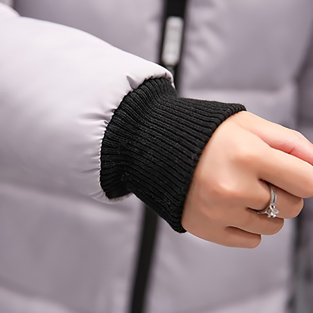 Winter jacket women 2018 new female parka coat feminina long down jacket plus size long hooded duck down coat jacket Women 4