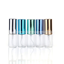 5ml Mini Travel Glass Perfume Bottle Atomizer 9 Colors Parfum Bottles For Spray Scent Pump Case Portable Bottle Tools P10 5ml perfume bottle aluminium anodized compact atomiser perfume aftershave atomizer fragrance glass scent bottle mixed color