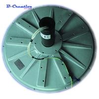 Factory price 5kw 100rpm 220V/380V vertical wind turbine generator permanent magnet alternator coreless household DIY generator