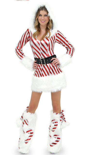 snowflake womens costume Santas sexy christmas