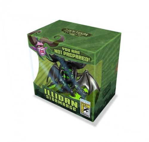 NEW hot 10cm Q version Illidan Stormrage collectors action figure