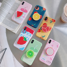 Iphone 7 Plus case iphone 8 Plus Cover Case Cute Cartoon Fruit Food Animal Pattern Soft TPU Silicon Case For Girls