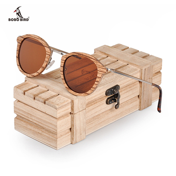 BOBO BIRD Sunglasses Women Polarized Wood Sun Glasses in Wooden Gift Box W-AG028 Drop Shipping 1
