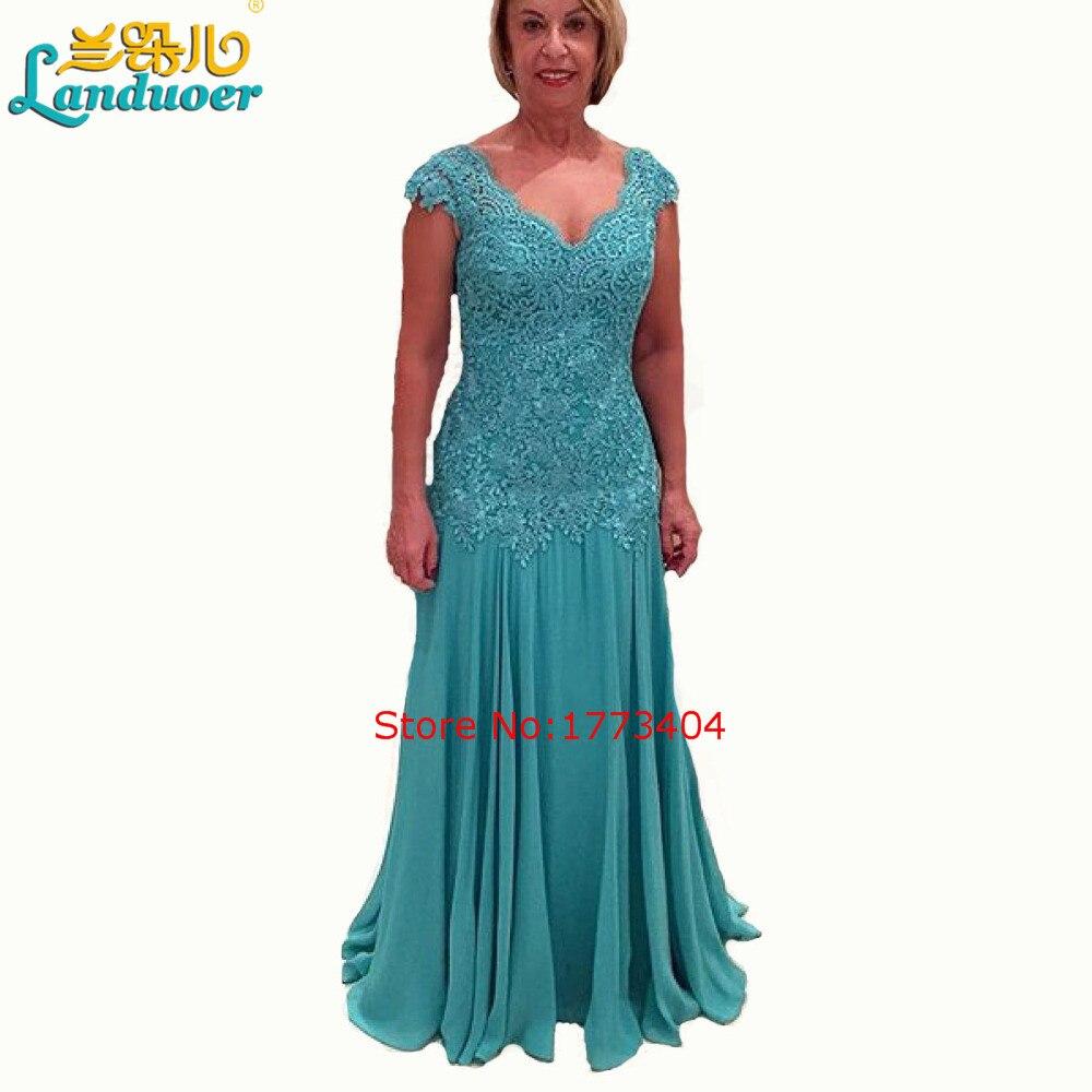 vestidos de madre de la novia Blue Mother of the Bride Dresses V ...