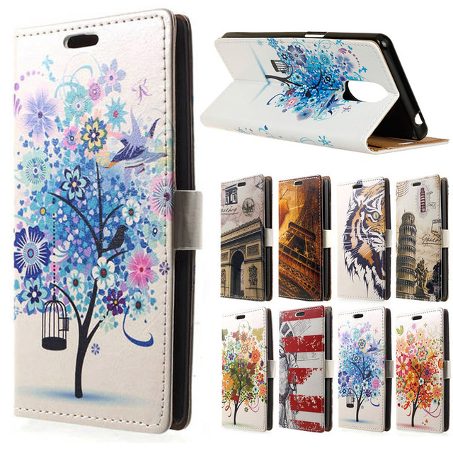 Doogee Shoot 1 CASE CARTOON PU Leather Wallet Flip Stand Cover case sFor Doogee Shoot 1 5.5 inch mobile phone cases capa coque