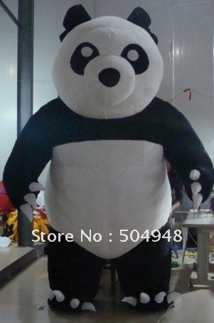 Inflatable Panda For Decoration