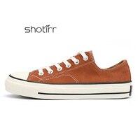 Классические парусиновые мужские туфли дышащие удобные модные уличные студенческие кроссовки высокого качества