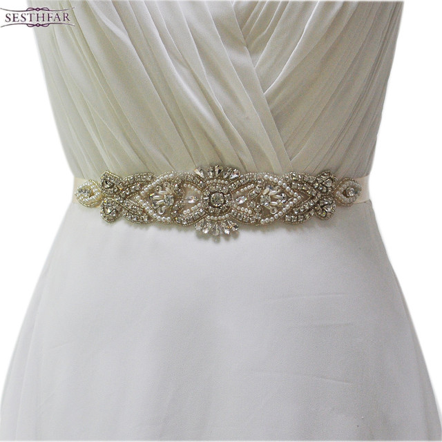 S208 Crystal Rhinestones Evening Party Prom Dresses Accessories ...