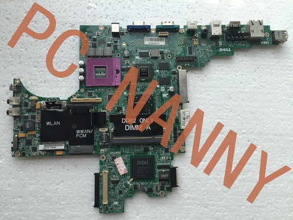 T497J CN-0T497J DAJM7BMB8F0 For DELL PP04X D830 Laptop Motherboard PM965 DDR2 Non-Integrated with Good Quality