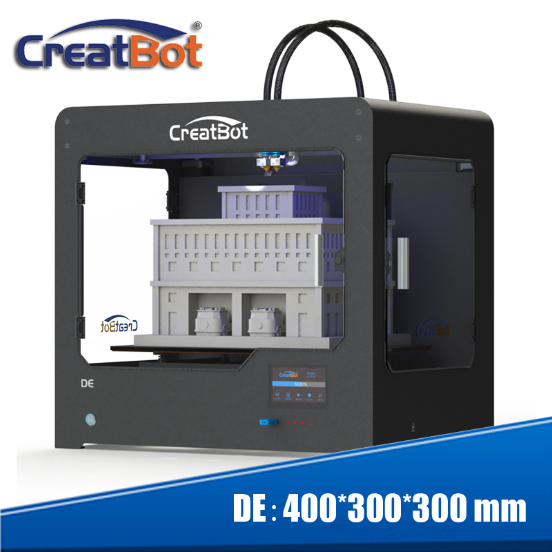 Creatbot 3d printer dual triple extruder 400*300*300 mm metal frame - Office Electronics