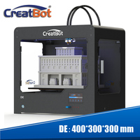 Creatbot 3d printer dual triple extruder 400*300*300 mm metal frame industrial large printing area machine DE free shipping