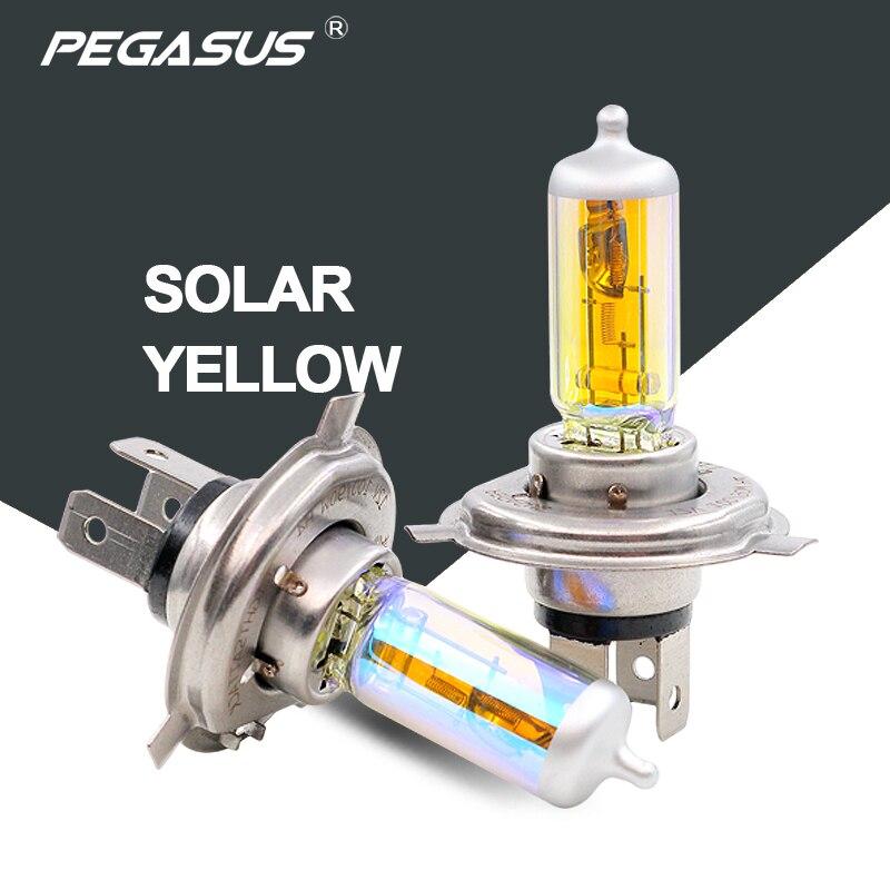 PEGASUS 2800 K Voiture Halogène H1 H3 H4 H7 H11 HB3 9005 HB4 9006 PS X 24 W Phare Auto Projecteur Ampoule Pour Chef de Brouillard de lumière lumière
