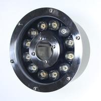Free Shipping 6 Pcs Per Lot AC 12v 9W LED Underwater Light Lamp Fountain Lamp Led