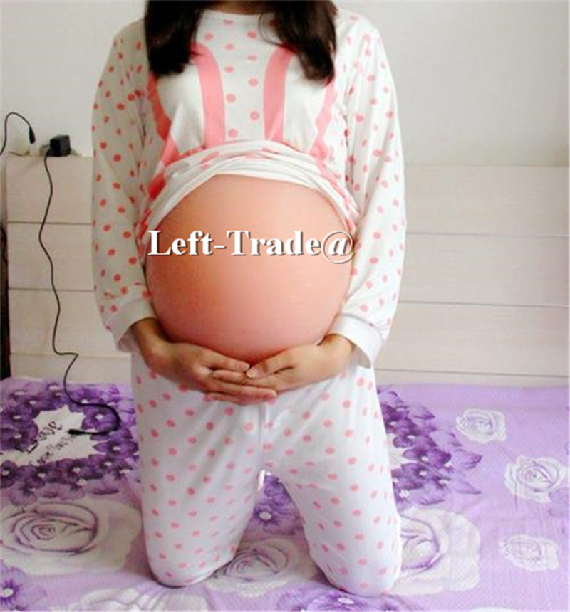 Twins 6~7 months fake beer belly tummy pregnant belly for drag queen false pregnancy use hot sale pregnancy belly nudeskin 1500g silicone belly soft lifelike moq1 free shipping fake belly for crossdresser drag queen xinxinmei