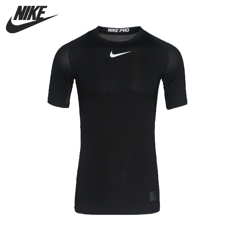 Original New Arrival 2018 NIKE AS M NP TOP SS COMP Men's T-shirts short sleeve Sportswear original new arrival 2017 nike as m np hprwm top ls comp men s t shirts long sleeve sportswear