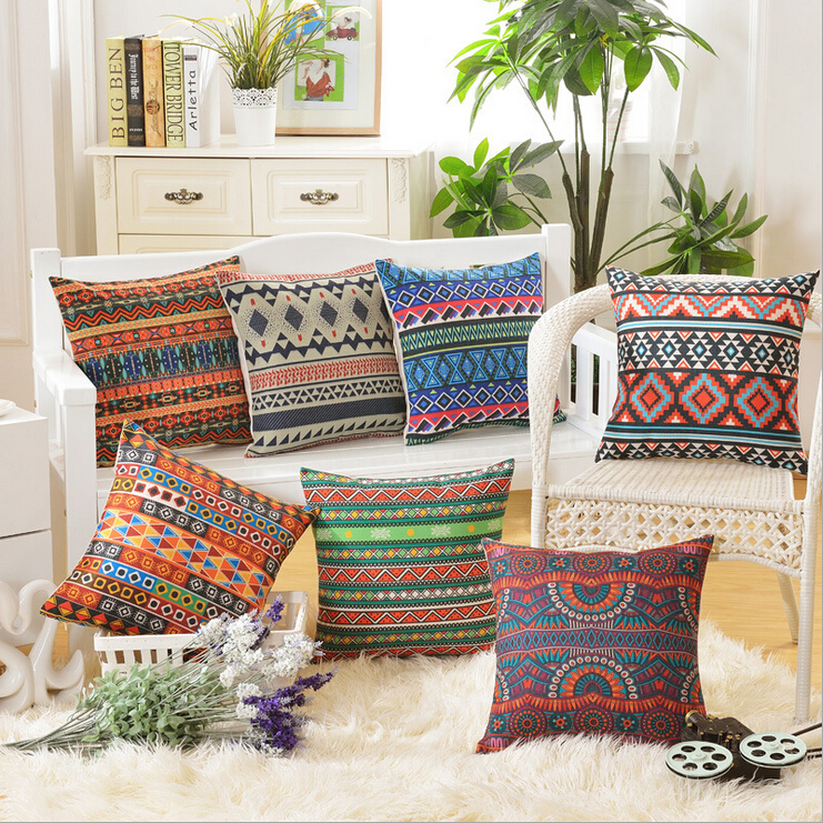 Elegant Sofa Pillows: Bohemian Throw Pillows Case For Sofa Chair Couch Elegant