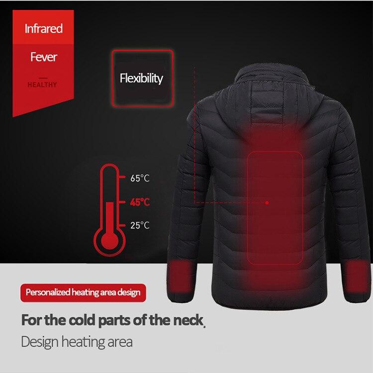 térmica quente aquecimento usb rapidamente caminhadas jaquetas