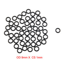 OD 9mm x CS 1mm Nitrile Rubber O Ring ORing O-Ring Oil Resistant Sealing Gasket 10pcs lot 24x20x2 mm o rings o ring oil seal resistant nbr nitrile butadiene rubber sealing o ring 24mm od x 2mm cs