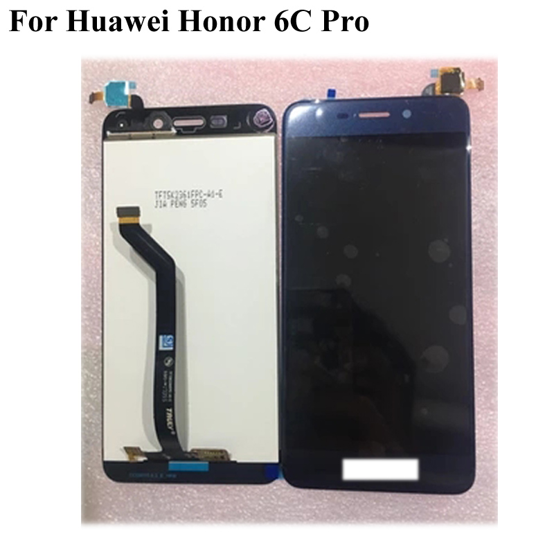 Black <font><b>LCD</b></font>+TP For <font><b>Huawei</b></font> <font><b>Honor</b></font> <font><b>6C</b></font> <font><b>Pro</b></font> <font><b>LCD</b></font> Display with <font><b>Touch</b></font> Screen Digitizer Smartphone Replacement For <font><b>Honor</b></font> <font><b>6C</b></font> 6 C <font><b>Pro</b></font> image