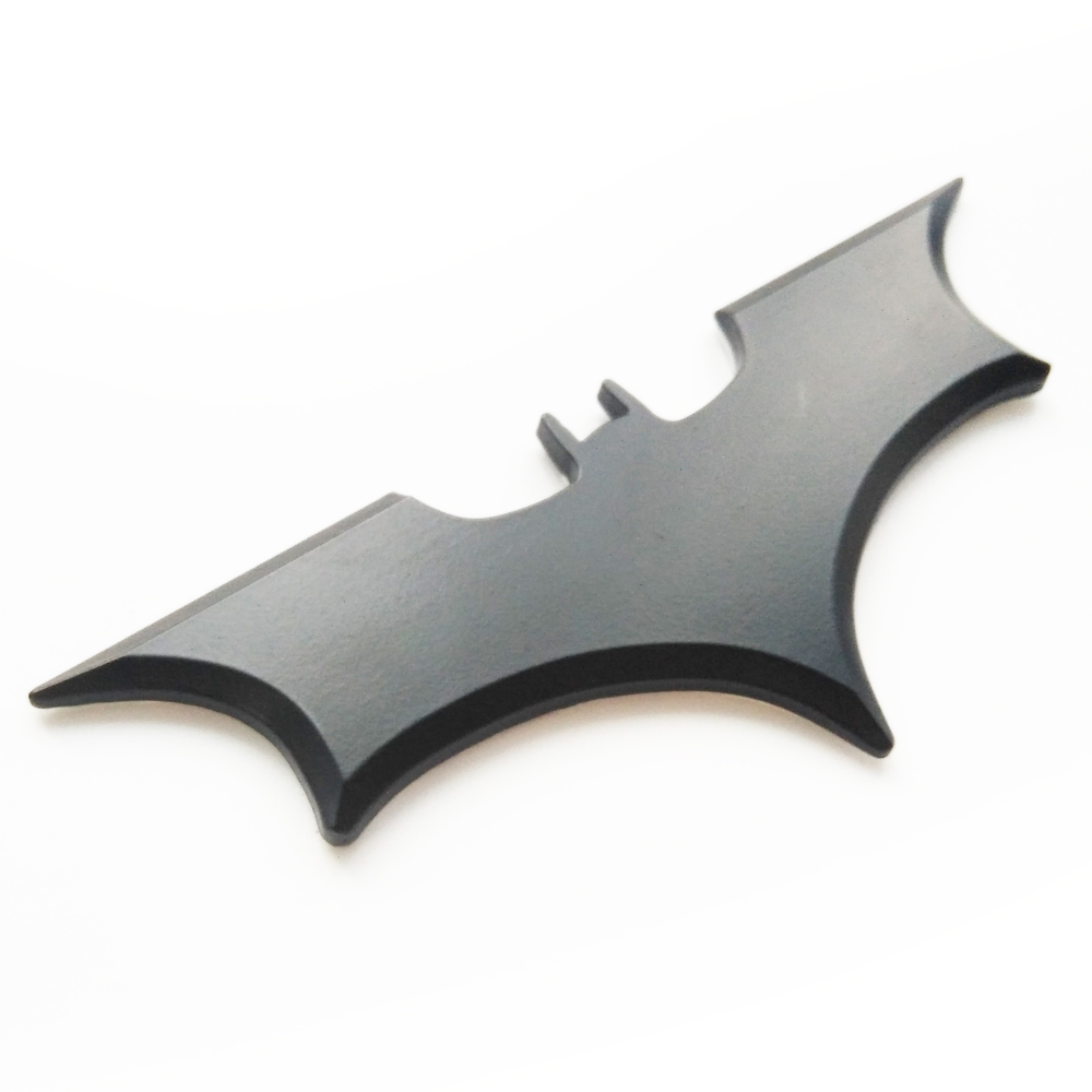 3D bat car sticker cool metal bat auto logo cover car styling car stickers metal batman badge emblem tail decal motorcycle 1 car styling white red blue 3d led decal front tail rear logo light badge lamp emblem sticker for all car models