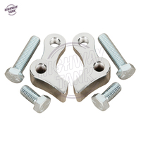 1 Inch Chrome Motorcycle Lowering Slam Drop Rear Forged Rear Lowering Kit Case For Harley Davidson