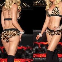 Slutty Dress Sexy Lingerie Porn Exotica Clothing Women Leopard Fancy Un