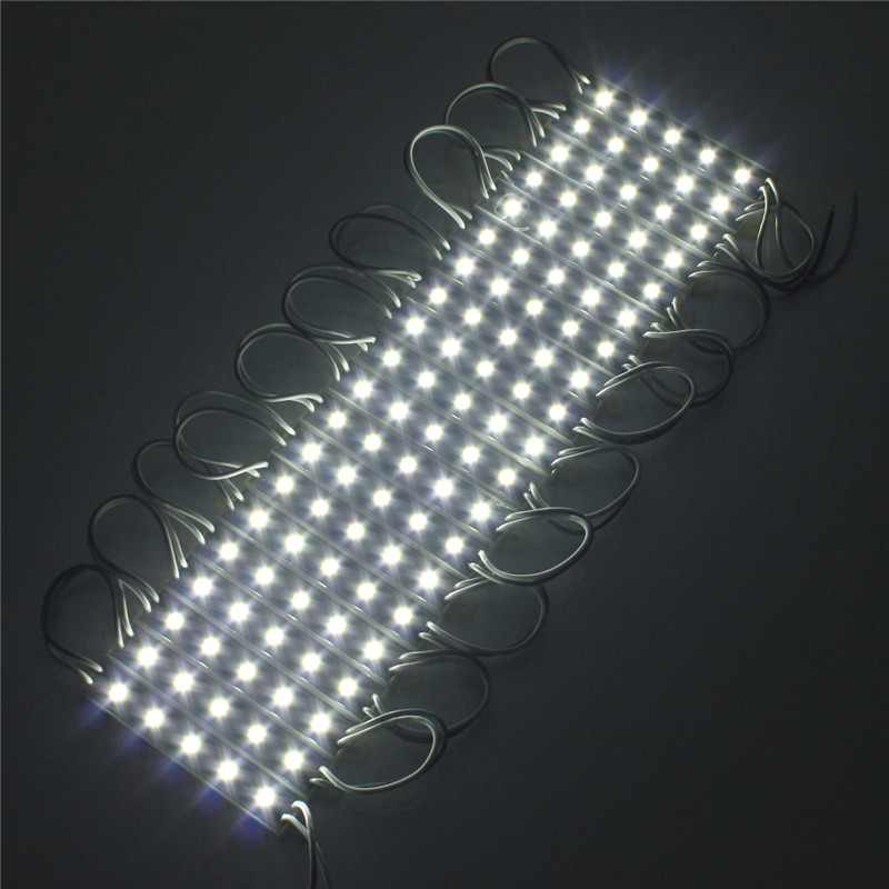 Waterproof SMD 5050 LED Module 100 LED Light Hard LED Strip Bar Light DC12V Lamp