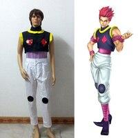 Hunter X Hunter Hisoka Cosplay Costume Customized Free Shipping