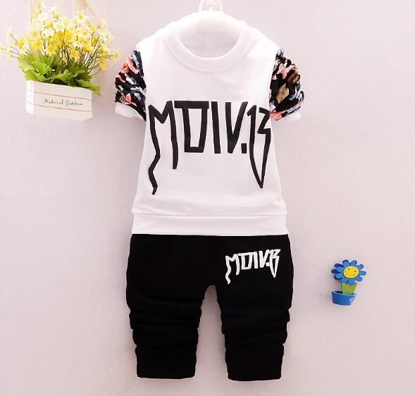 2017 Spring  Autumn new boy sports and leisure suit children's clothing 821 pants two-piece fast shipping in the spring of the new han edition cuhk boy sports leisure fleece two piece outfit