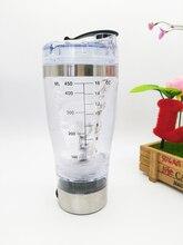 Envío gratis proteína shaker blender botella de agua automático movimiento desmontable inteligente mezclador vortex tornado 450 ml bpa botella