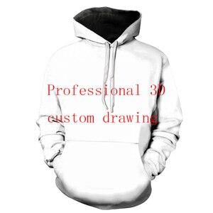 مخصص كامل طباعة 3d هوديس رجل/المرأة Polluver البلوز الرجال هوديس Customsize زائد حجم انخفاض الشحن