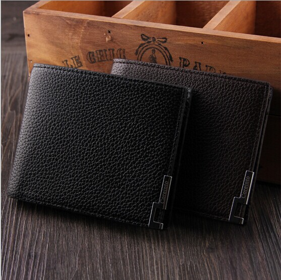 M29 High Quality Pu + Genuine Leather Men Wallets For Men Male , Brand Black Brown Standard Wallet Purse Money Clip driven racing standard clip ons 55mm black dclo55bk