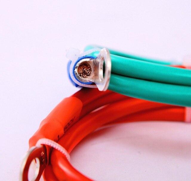 Schweißkabel 6 AWG 1,8 füße Batterie kabel draht 200A Wahr Kupfer ...