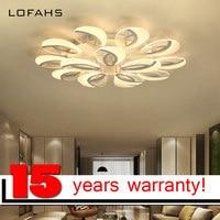 LOFAHS Modern LED Chandelier Lighting Luxury Acrylic Chandelier For Living Dining Bed Room Luster Led Lamp