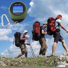 Nuevo Mini GPS Localización Llavero Finder 24POI Chargable USB GPS de Navegación Para Viajes Deportes Al Aire Libre Escalada Deportiva Al Aire Libre de Viaje