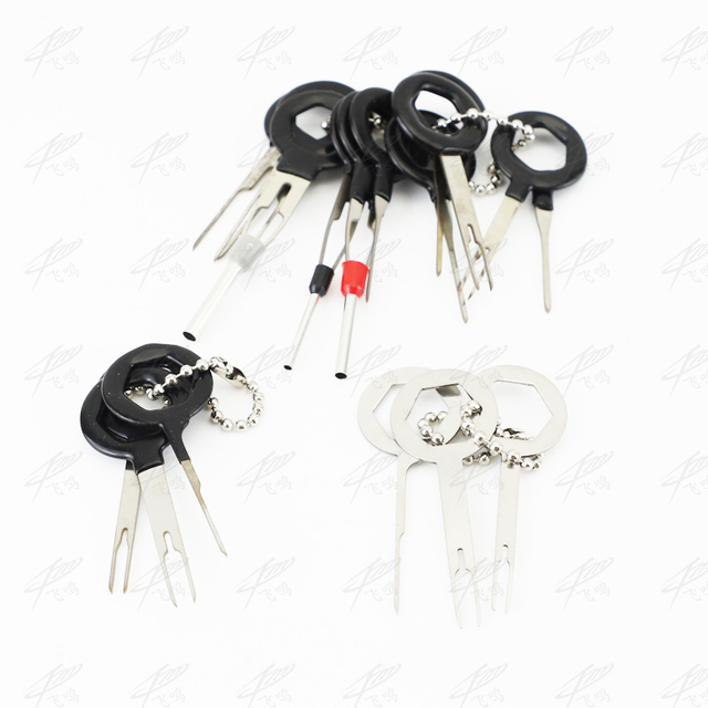 Automobiles Repair Tool Pin Extractor Kit 3pcs/11Pcs Terminal Removal Tools Car Electrical Wiring Crimp Connector