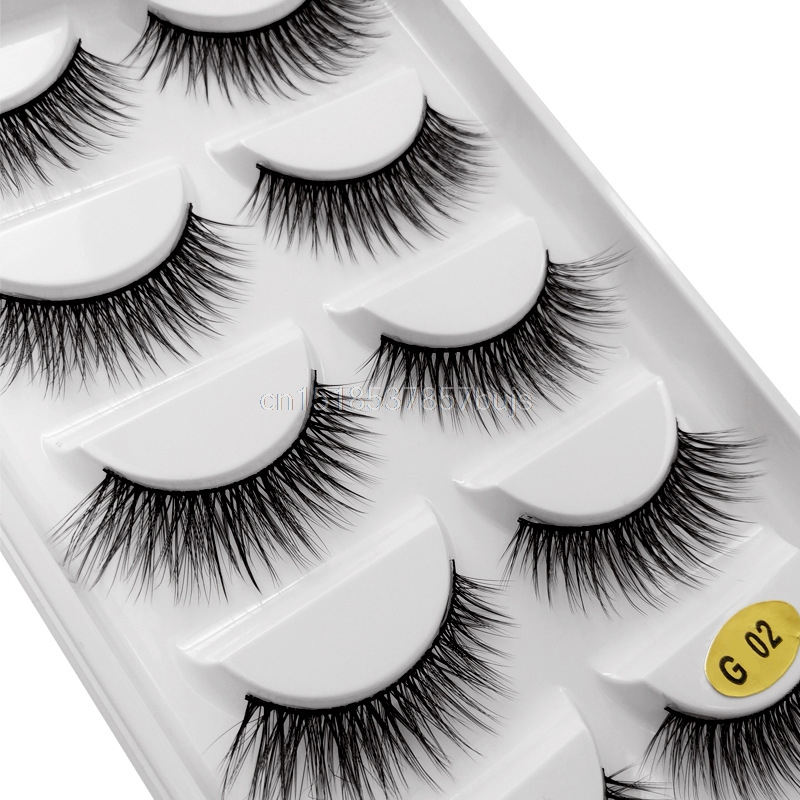 HTB1dGpVXULrK1Rjy0Fjq6zYXFXaI New 3D 5 Pairs Mink Eyelashes extension make up natural Long false eyelashes fake eye Lashes mink Makeup wholesale Lashes