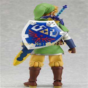Image 4 - anime zelda skyward sword link 14cm pvc action figure collection model doll #153 Toy