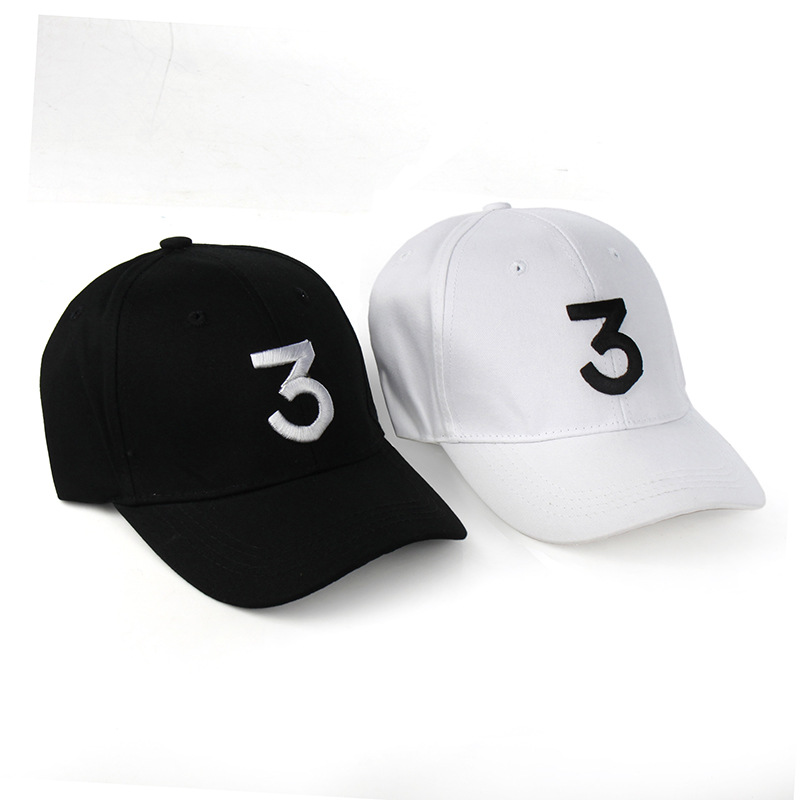 032e4cb6b3e CHESSIECA New Fashion Tide Snapback Caps Popular Chance The Rapper 3  Baseball Cap Hip Hop Hats For Men Women Fitted Hat -in Baseball Caps from  Apparel ...